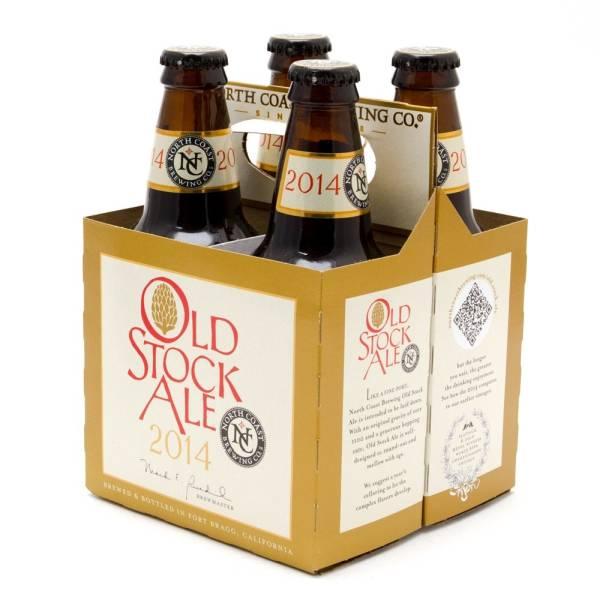 North Coast - Old Stock Ale - 12oz Bottle - 4 Pack