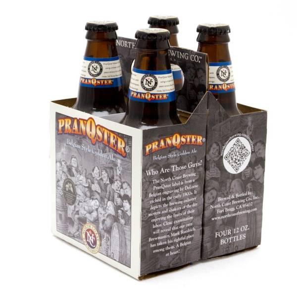 North Coast - PranQster Belgian Style Golden Ale - 12oz Bottle - 4 Pack