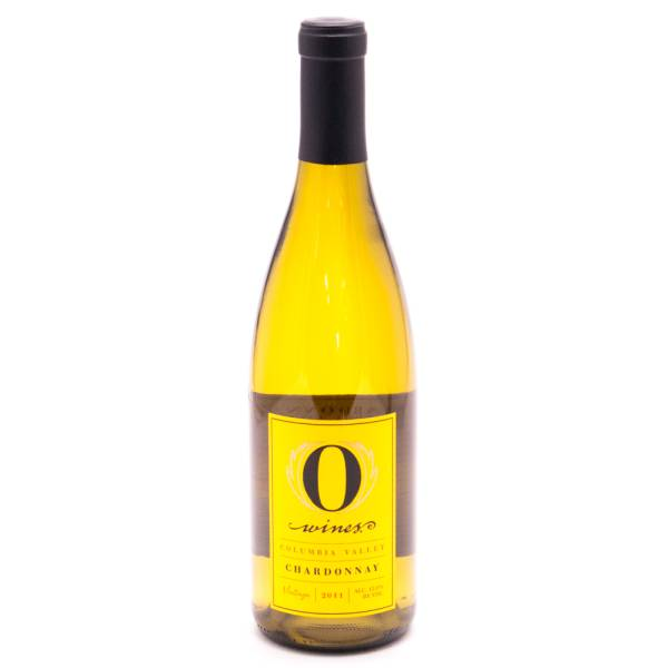 O Wines - Columbia Valley Chardonnay - 13% ACL - 750ml