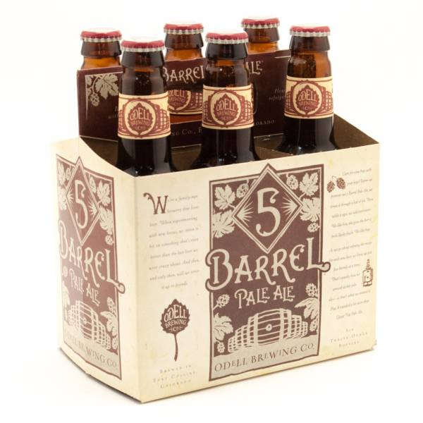 Odell - 5 Barrel Pale Ale - 12oz Bottle - 6 Pack