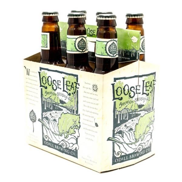 Odell - Loose Leaf American Session Ale - 12oz Bottles - 6 pack