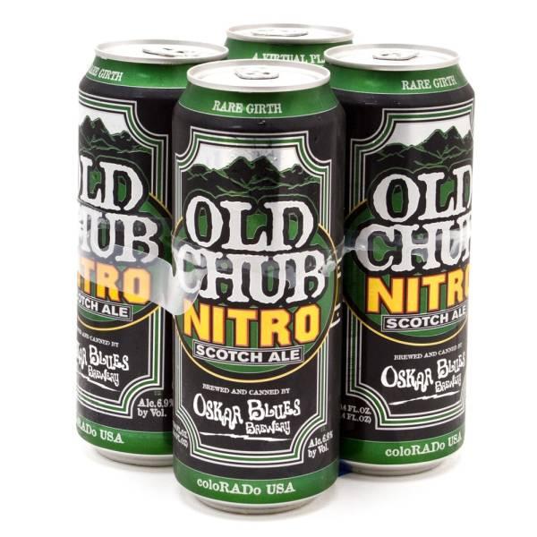 Oskar Blues - Old Chub Nitro - Scotch Ale 16.4oz Can - 4 Pack