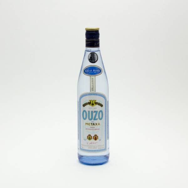 Ouzo By METAXA - Greek Speciality Liqueur - 750ml