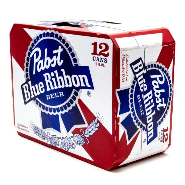 Pabst Blue Ribbon - Beer - 12oz Can - 12 Pack