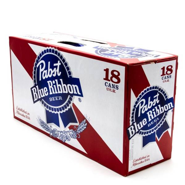 Pabst Blue Ribbon - Beer - 12oz Can - 18 Pack