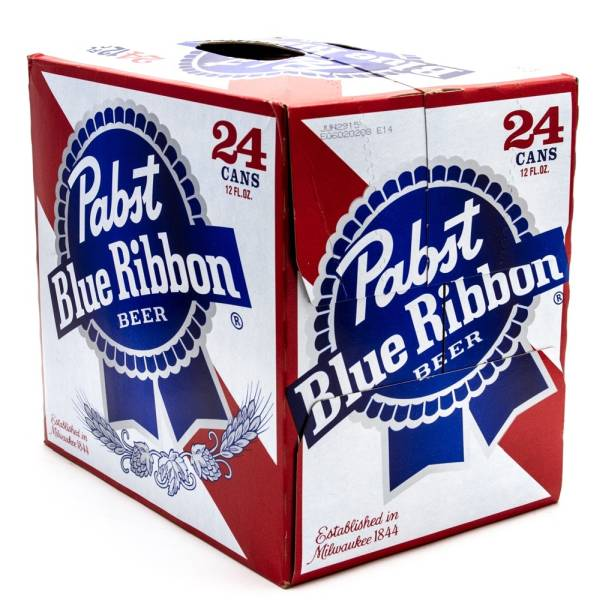 Pabst Blue Ribbon - Beer - 12oz Can - 24 Pack