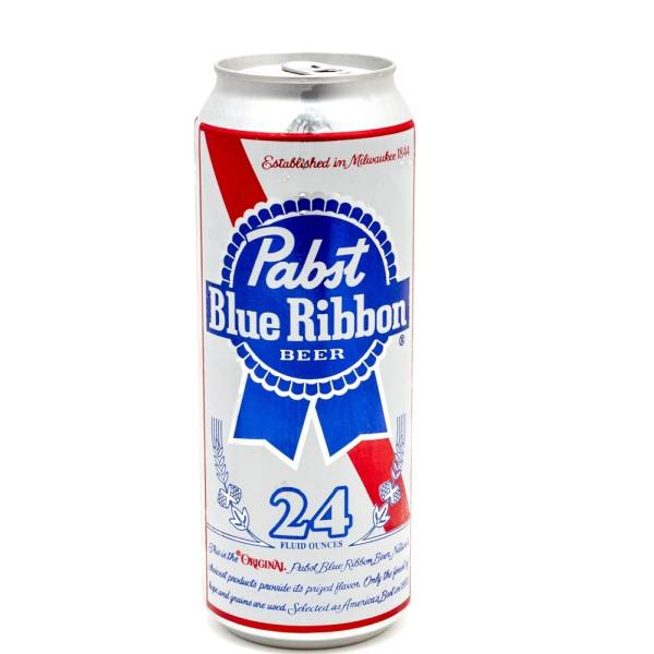 Pabst Blue Ribbon - Beer - 24oz Can