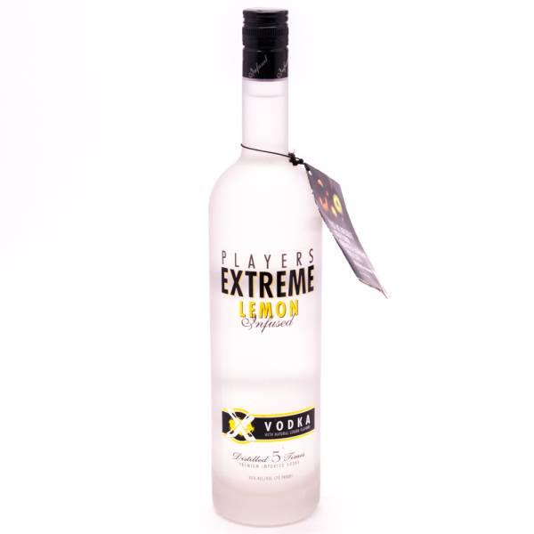 Players Extreme - Lemon Infused Vodka - 750ml