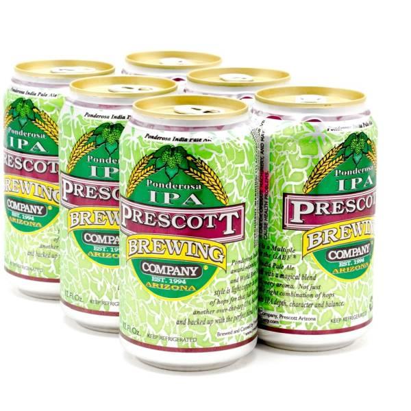Prescott - Poderosa IPA - 12oz Can - 6 Pack