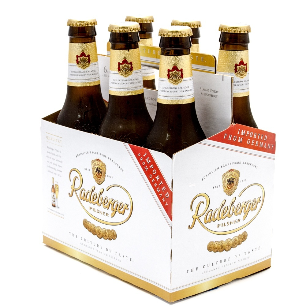 Radeburger Pilsner - 11.2oz Bottle - 6 Pack