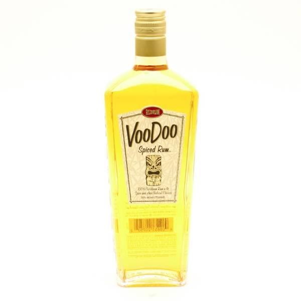 Red Rum - Voo Doo Spiced Rum - 750ml