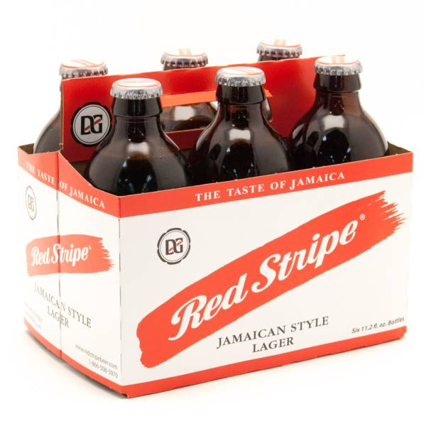 Red Stripe - Jamaican Style Beer - 11.2oz Bottle - 6 Pack