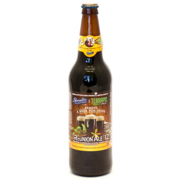 Reunion Ale - 12 Dark Imperial Ale - 22oz Bottle