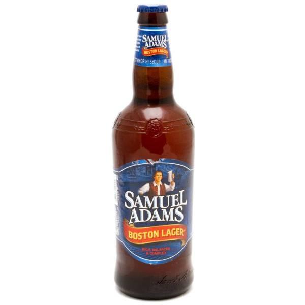 Samuel Adams - Boston Lager - 22oz Bottle