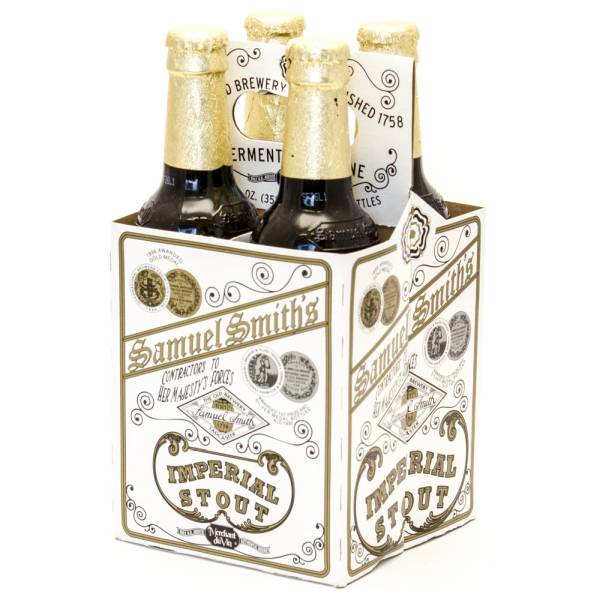 Samuel Smith - Contractors to Her Majesty's Forces Imperial Stout - 12oz Bottle - 4 Pack