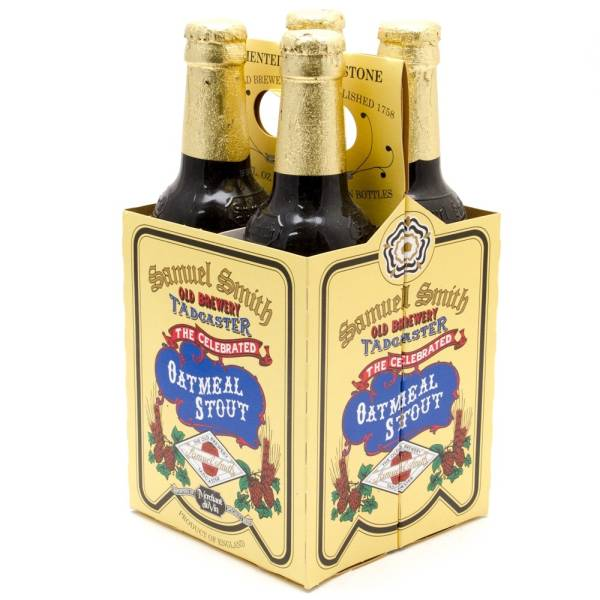Samuel Smith - Oatmeal Stout - 12oz Bottle - 4 Pack