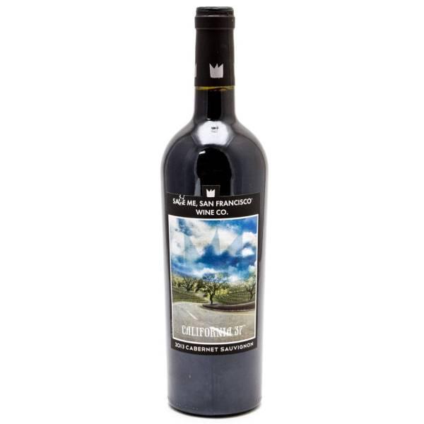 Save Me - Californa 37 Cabernet Sauvignon 2013 - 750ml