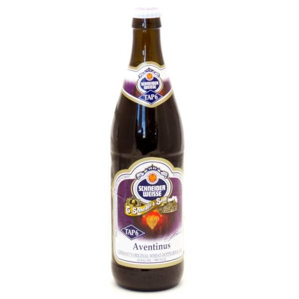 Schneider Weisse - Aventinus Tap 6 Germany's Original Wheat Ale - 22oz Bottle
