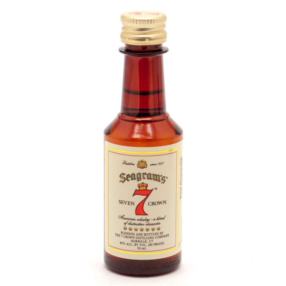 Seagram's - 7 Seven Crown American Blended Whiskey - Mini 50ml