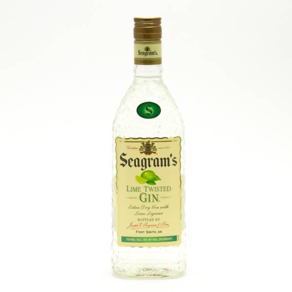 Seagram's - Lime Twisted Gin - 750ml