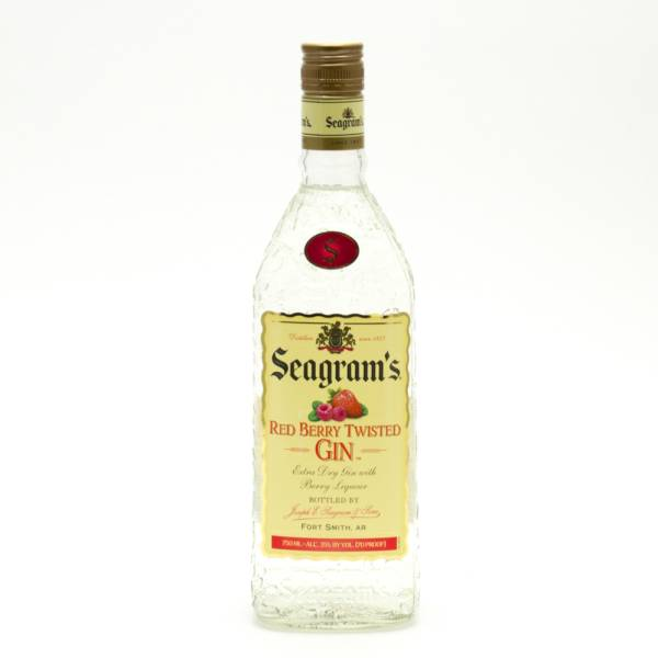 Seagram's - Red Berry Twisted Gin - 750ml