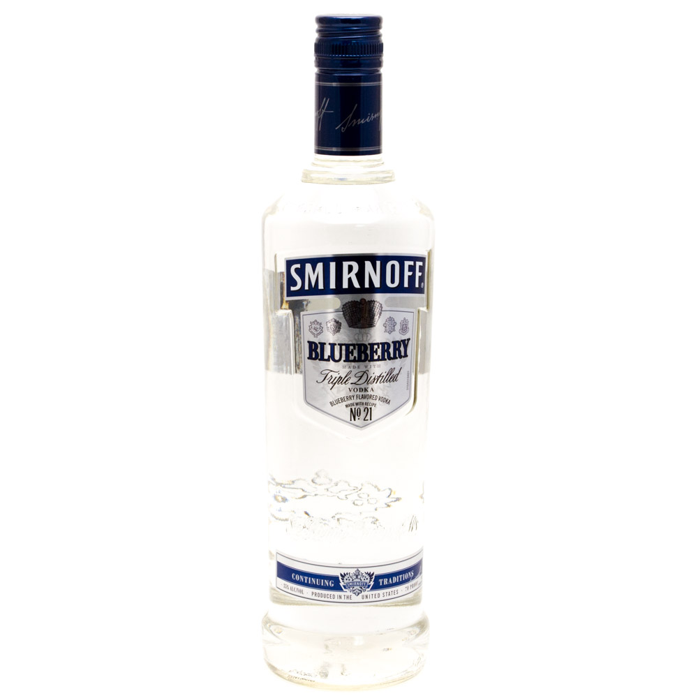 Smirnoff - Blueberry Vodka - 750ml