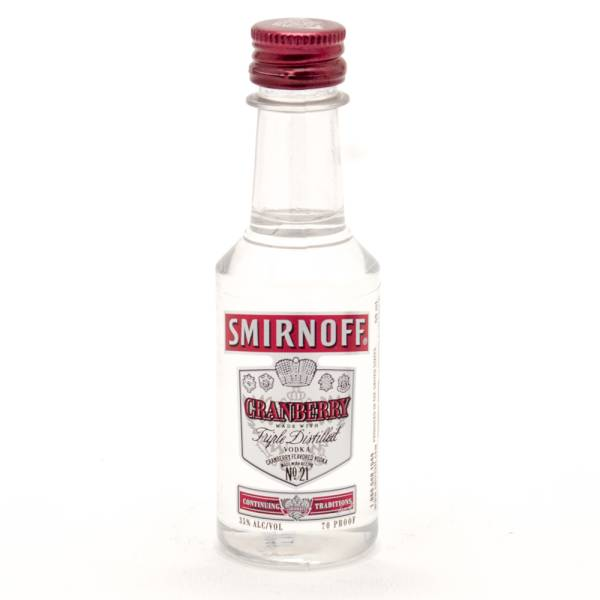 Smirnoff - Cranberry Vodka - Mini 50ml