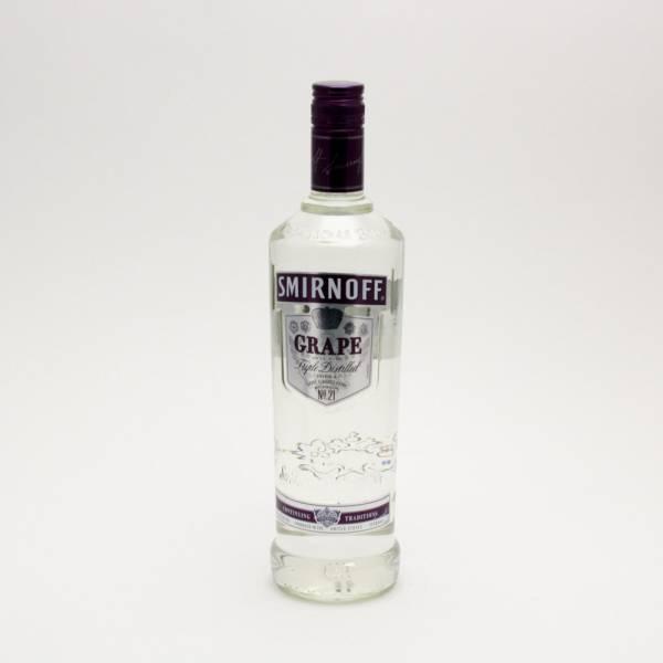 Smirnoff - Grape Vodka - 750ml