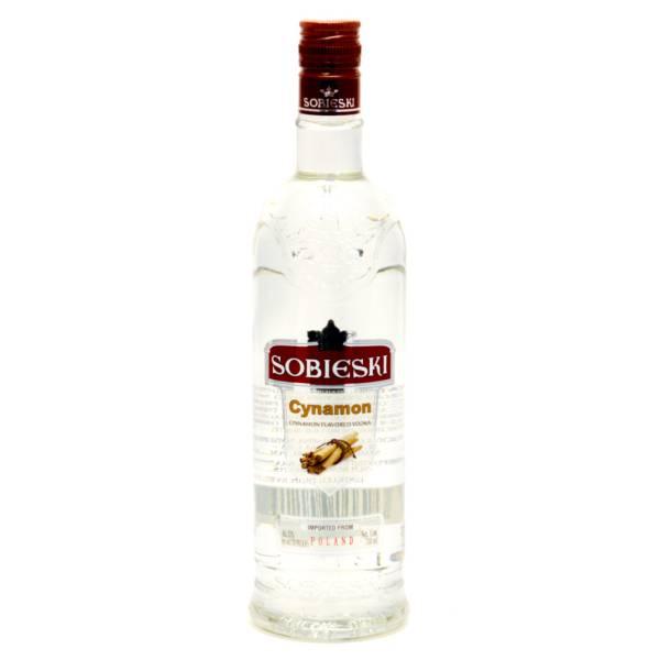 Sobieski - Cynamon Cinnamon Flavored Vodka - 750ml