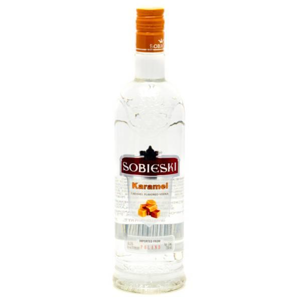 Sobieski - Karamel Caramel Vodka - 750ml