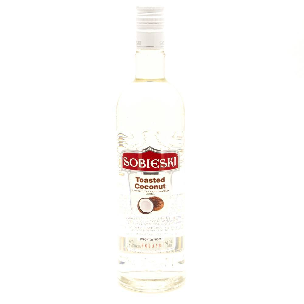 Sobieski - Toated Coconut Vodka - 750ml