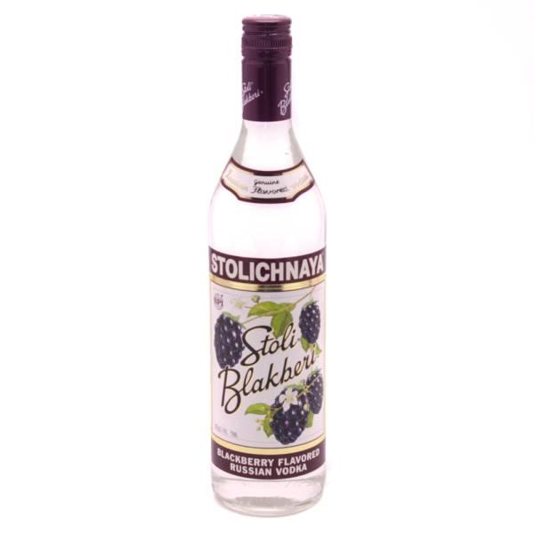 Stoli - Blackberry Vodka - 750ml