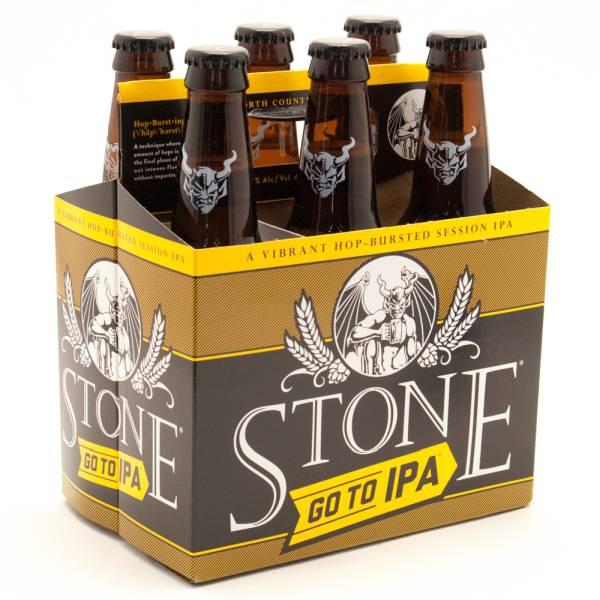 Stone - Go To IPA - 12oz Bottle - 6 Pack