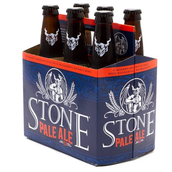 Stone - Pale Ale - 12oz Bottles - 6 pack