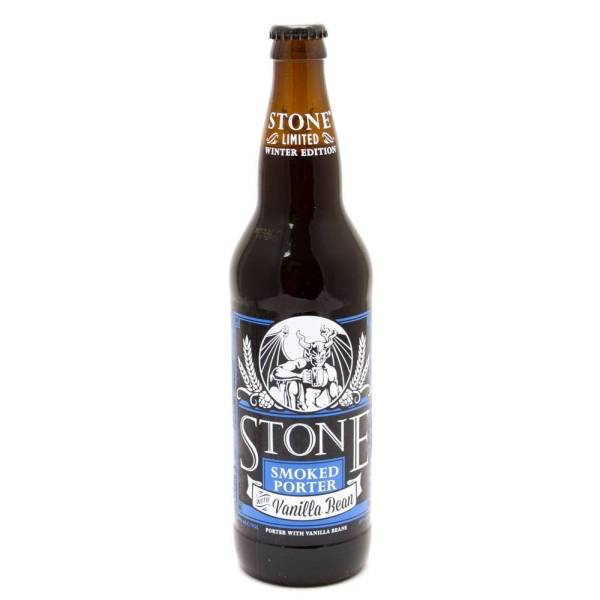 Stone - Smoked Porter w/Vanilla Bean Winter Edition - 22oz Bottle