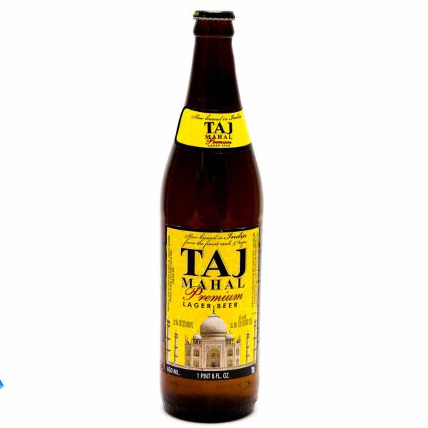 Taj Mahal Lager Beer 650ml Beer Wine And Liquor