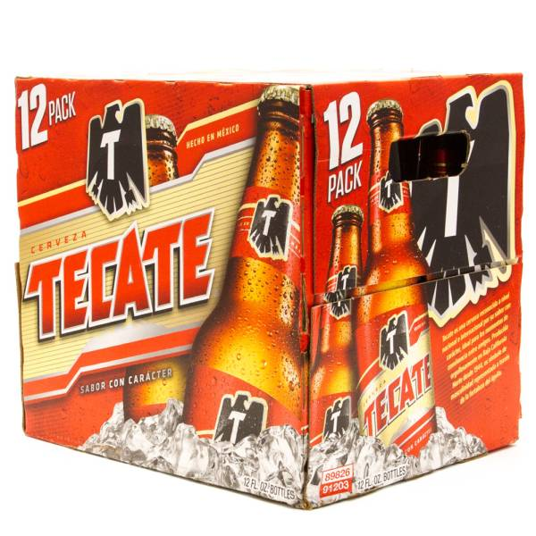 Tecate - Beer - 12oz Bottle - 12 Pack