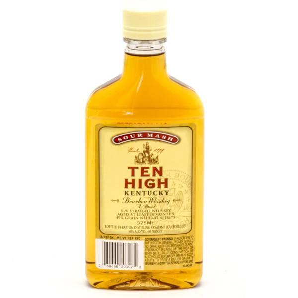 Ten High - Kentucky Bourbon Whiskey - 375ml