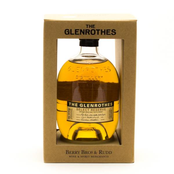 The Glenrothes - Select Reserve - Speyside Single Malt Scotch Whisky - 750ml
