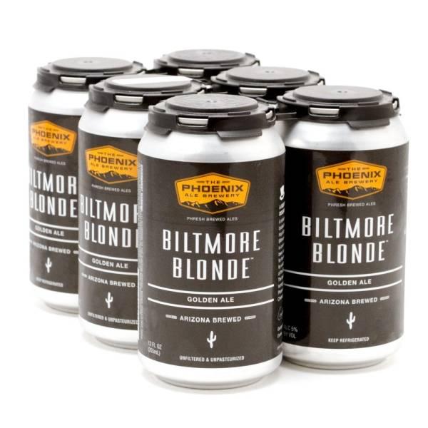 The Phoenix Ale - Biltmore Blonde Golden Ale - 12oz Can - 6 Pack