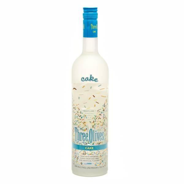 Three Olives - Cake Vodka - 750ml