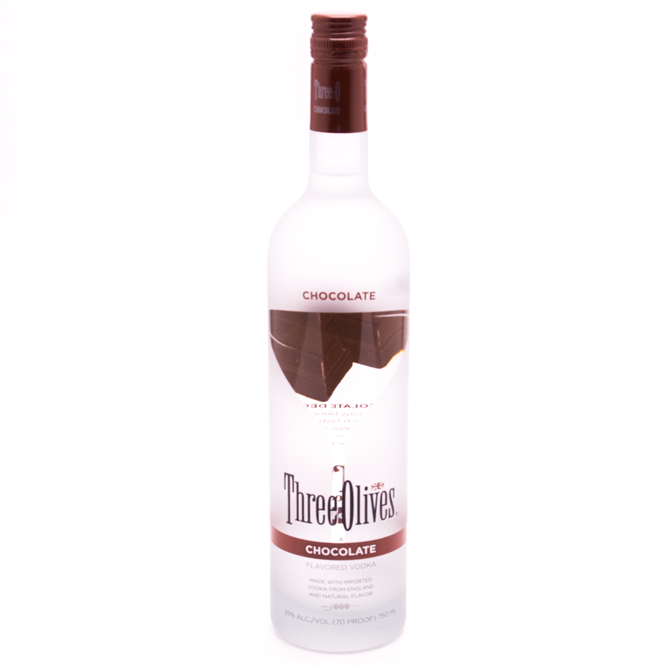 Three Olives - Chocolate Vodka - 750ml