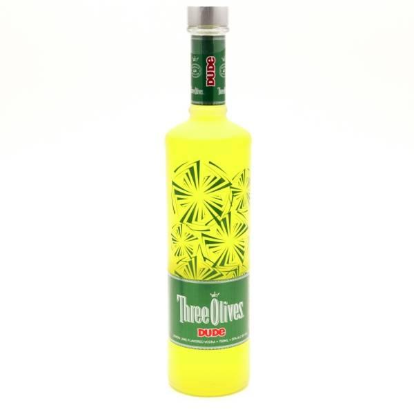 Three Olives - Dude Lemon Lime Vodka - 750ml