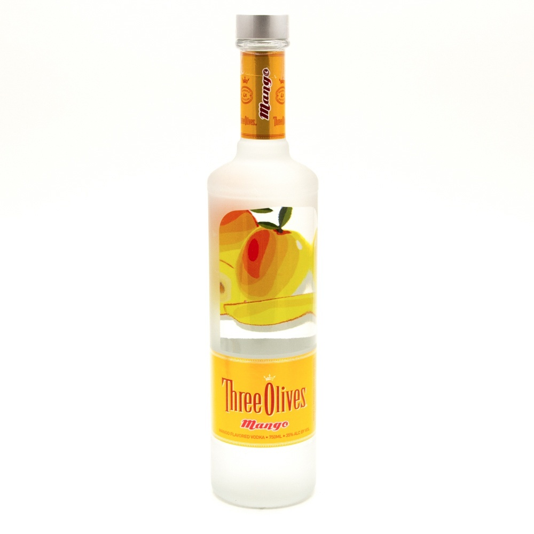 Three Olives - Mango Vodka - 750ml