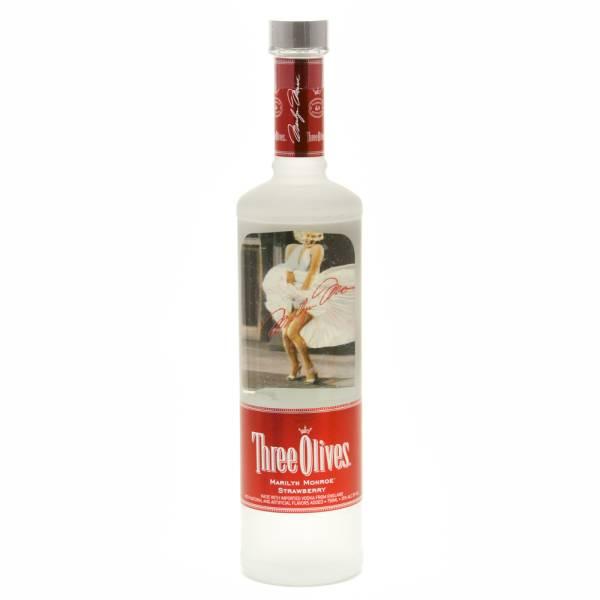 Three Olives - Marilyn Monroe -  Strawberry Vodka - 750ml