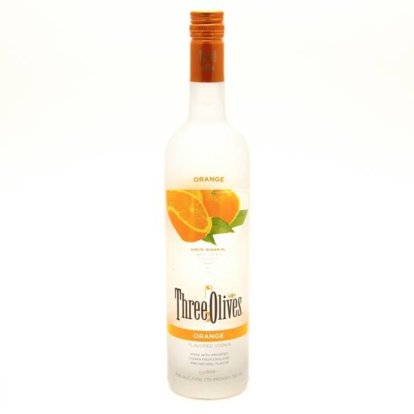 Three Olives - Orange Vodka - 750ml