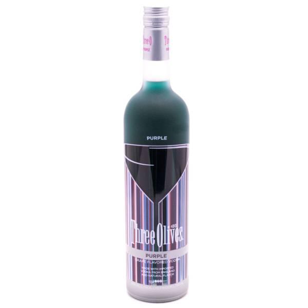 Three Olives - Purple Grape Vodka - 750ml