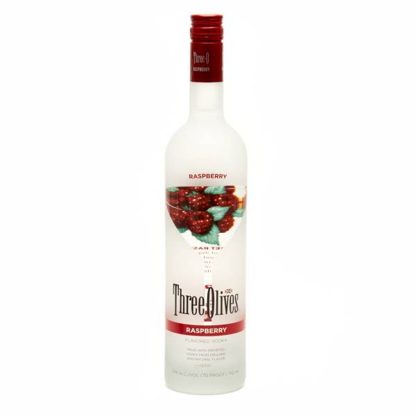 Three Olives - Raspberry Vodka - 750ml