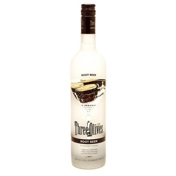 Three Olives - Root Beer Vodka - 750ml