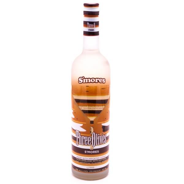 Three Olives - S'mores Vodka - 750ml